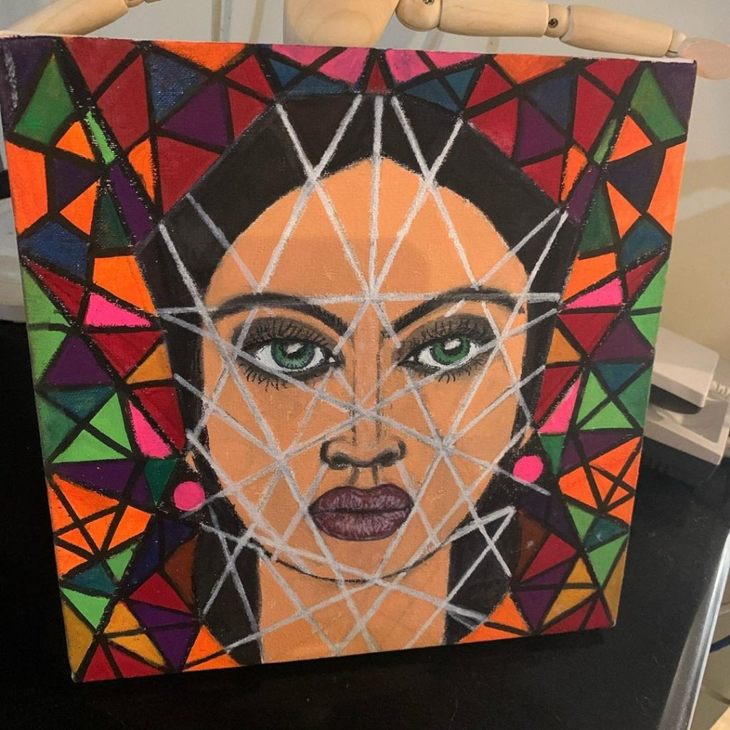 Flawless Arts and Craft by Angeline Malik in Quarantine