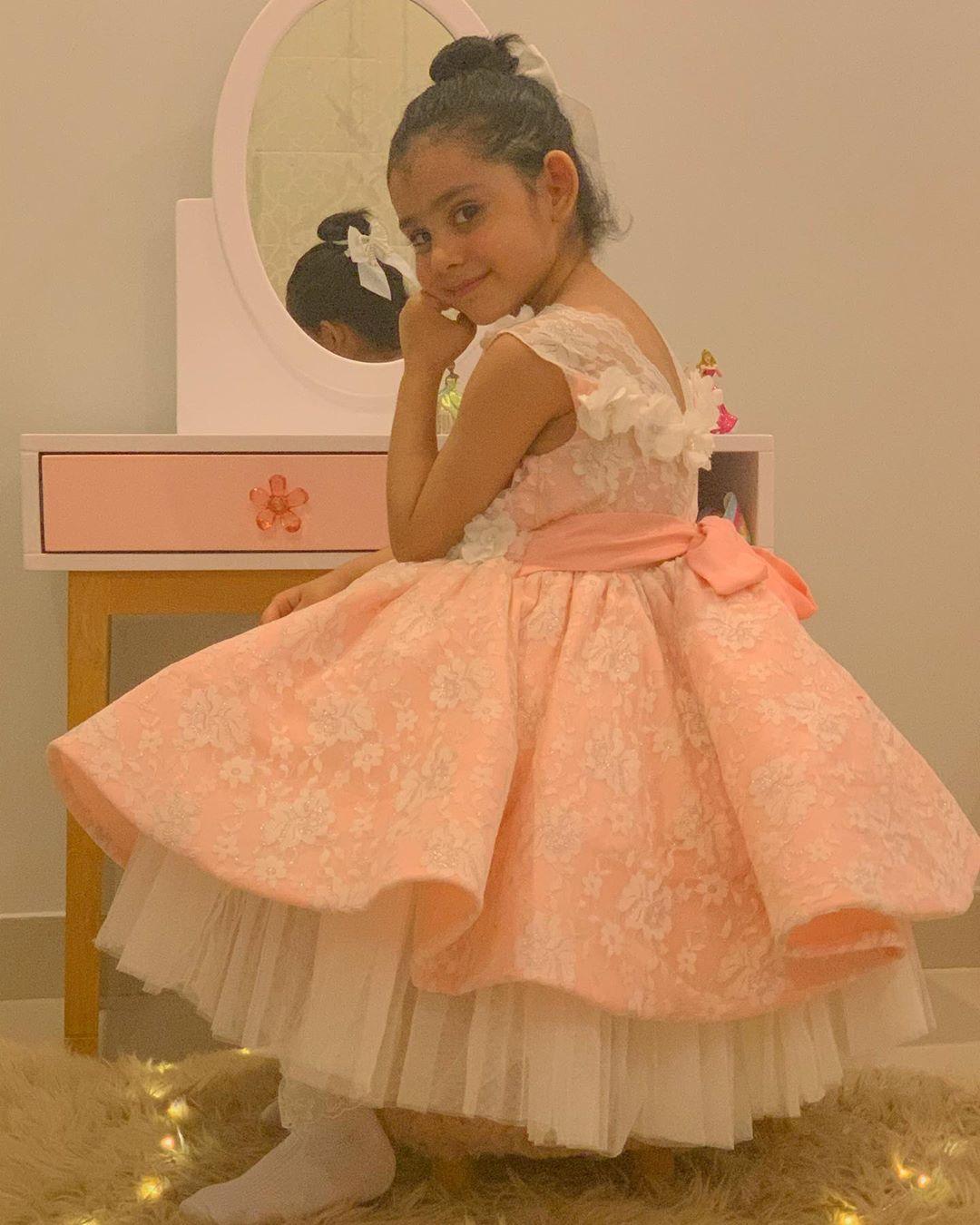 Ayeza and Danish Celebrating their Daughter Hoorain's 5th Birthday - Pictures