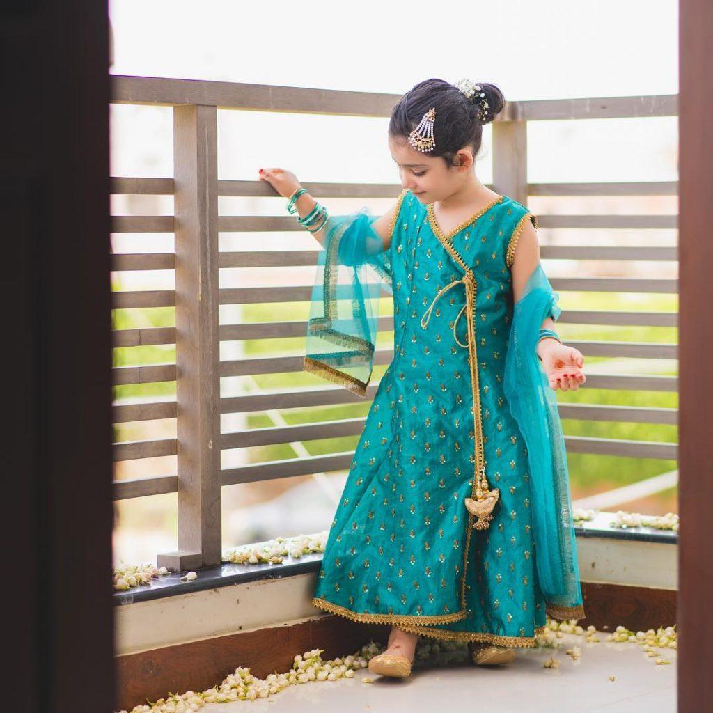 Ayeza Khan's Daughter Hoorain is a Star Herself