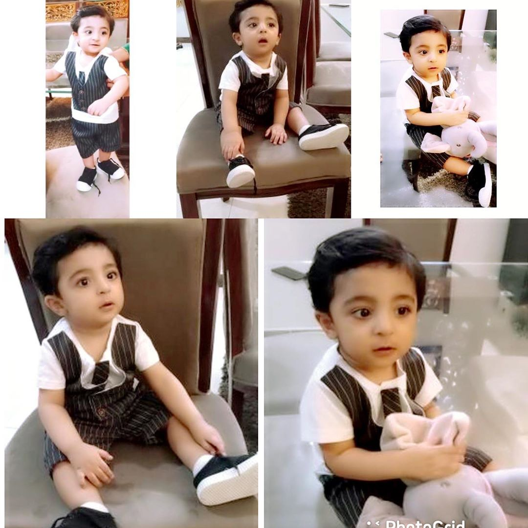 Actress Fatima Sohail with her Son - Latest Pictures