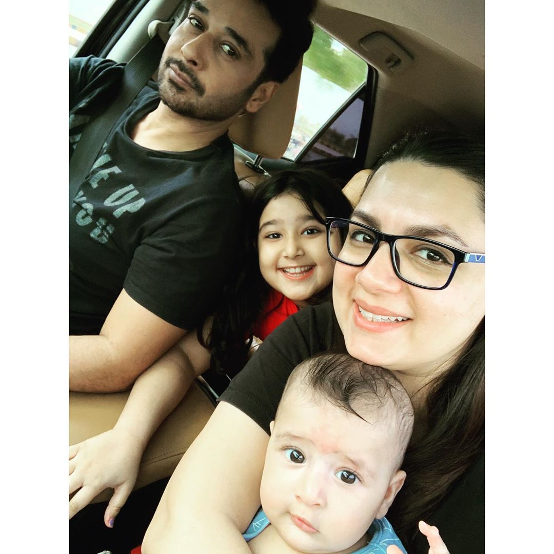Faysal Qureshi Son Six Month Birthday Pictures