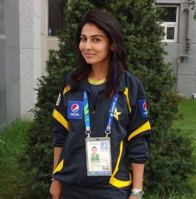 Pakistani Cricketer Kainat Imtiaz Got Engaged