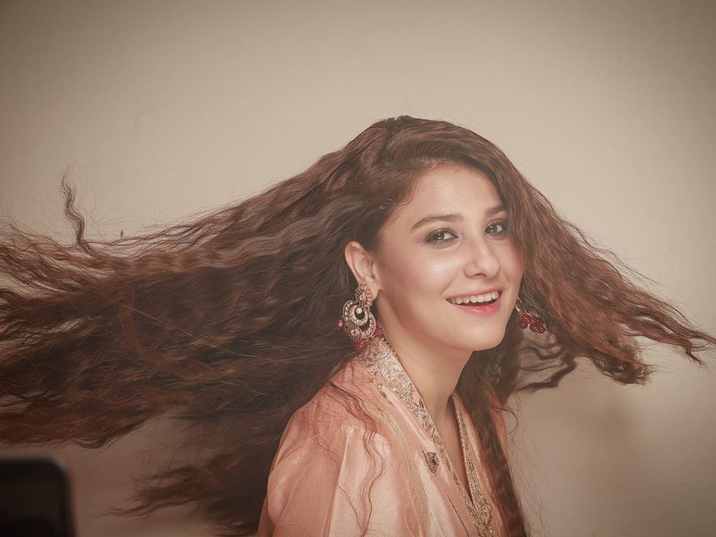 Hina Altaf Tries a Different Style for Photoshoots