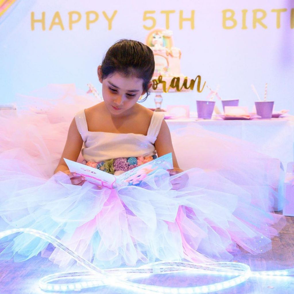 Pictures From Ayeza Khan's Daughter, Hoorain Taimoor's 5th Birthday