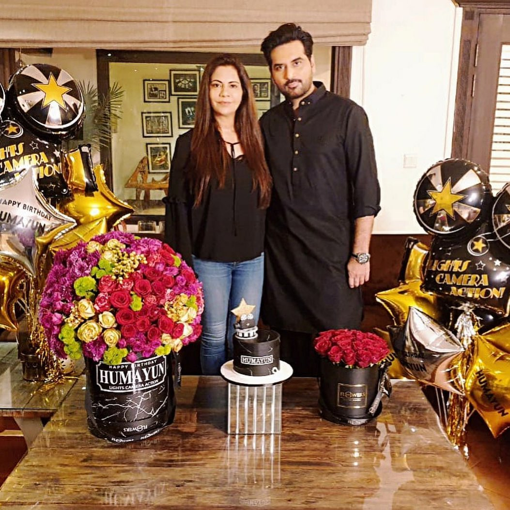 Humayun Saeed Celebrated his Birthday with his Family