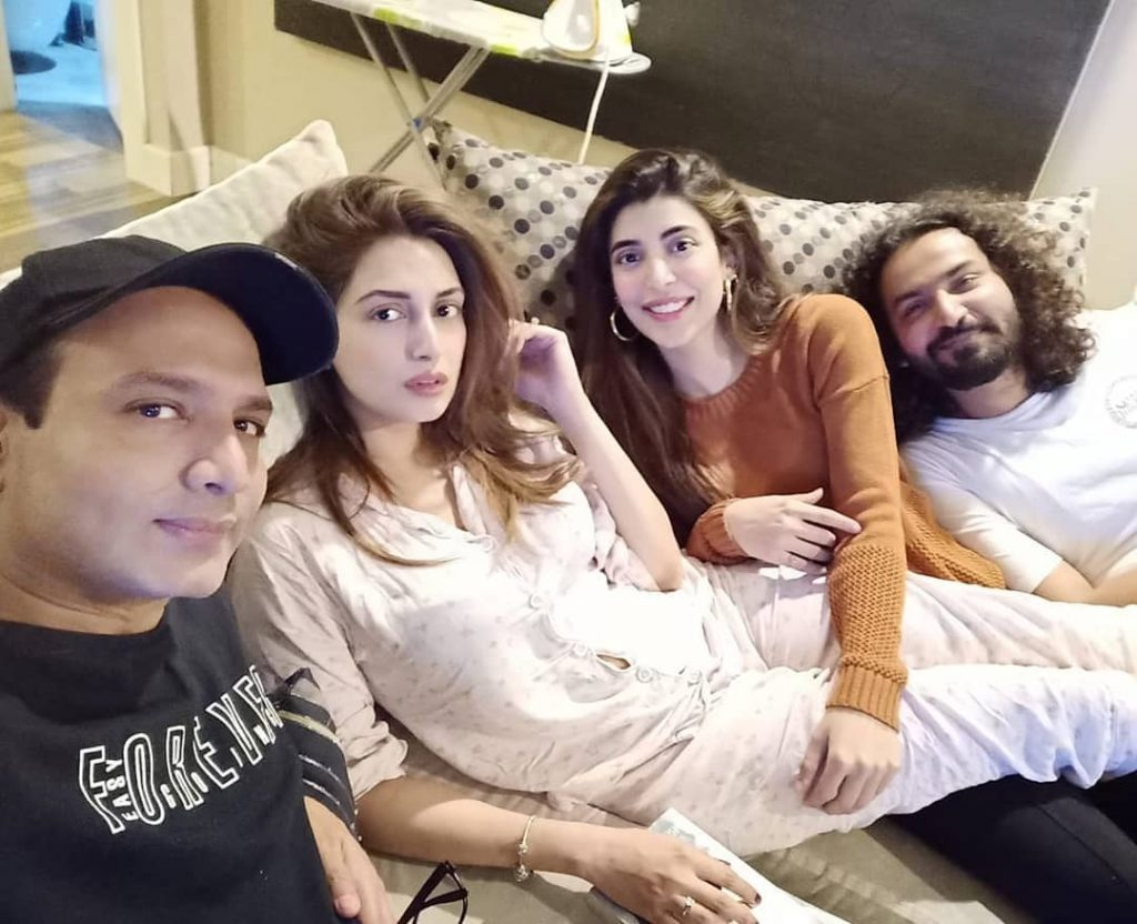Unseen Pictures of Iman Aly with Husband and Close Friends