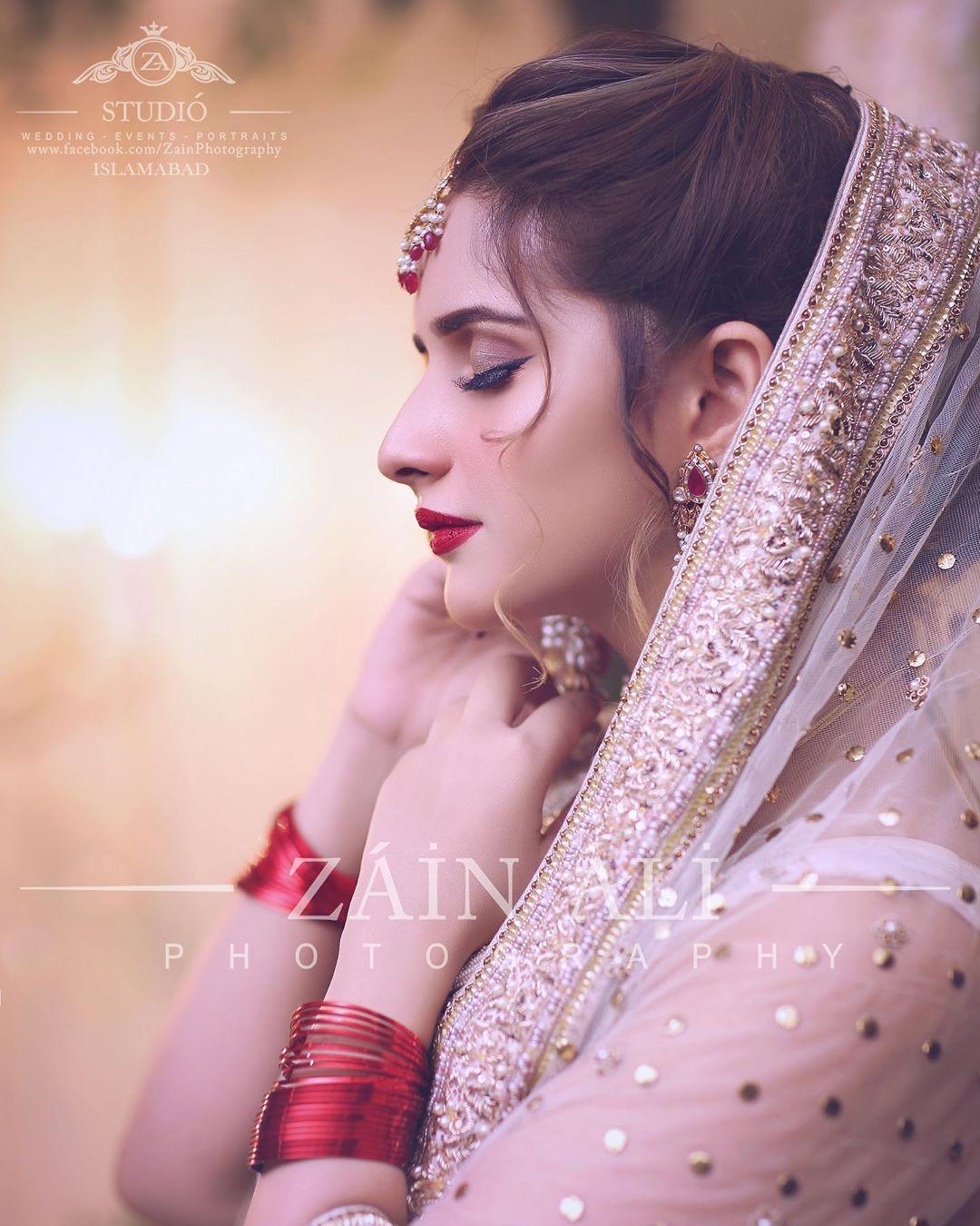 Tiktok Star Sisters Jannat Mirza and Alishba Anjum Bridal Photo Shoot