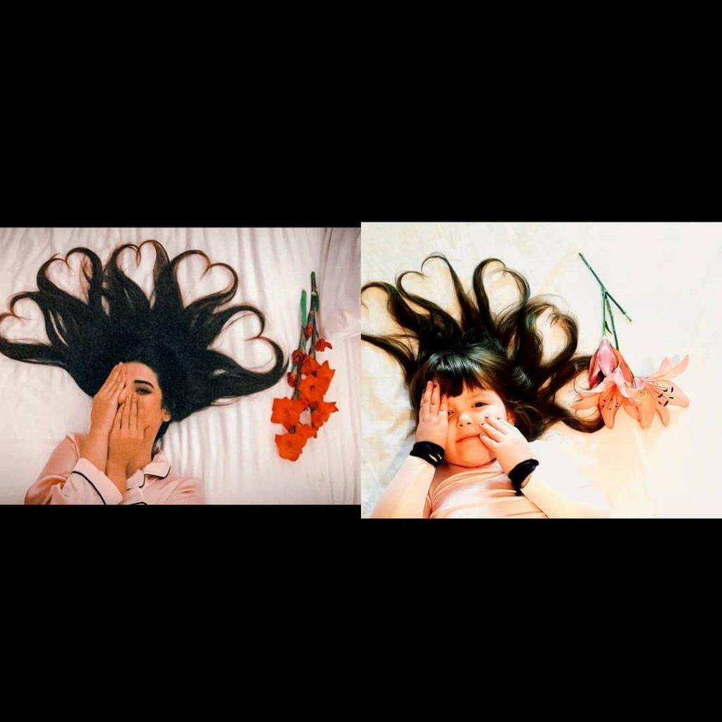 Cute Albanian Girl, Marge Pellumbi, Recreates Looks Of Famous Pakistani Celebrities
