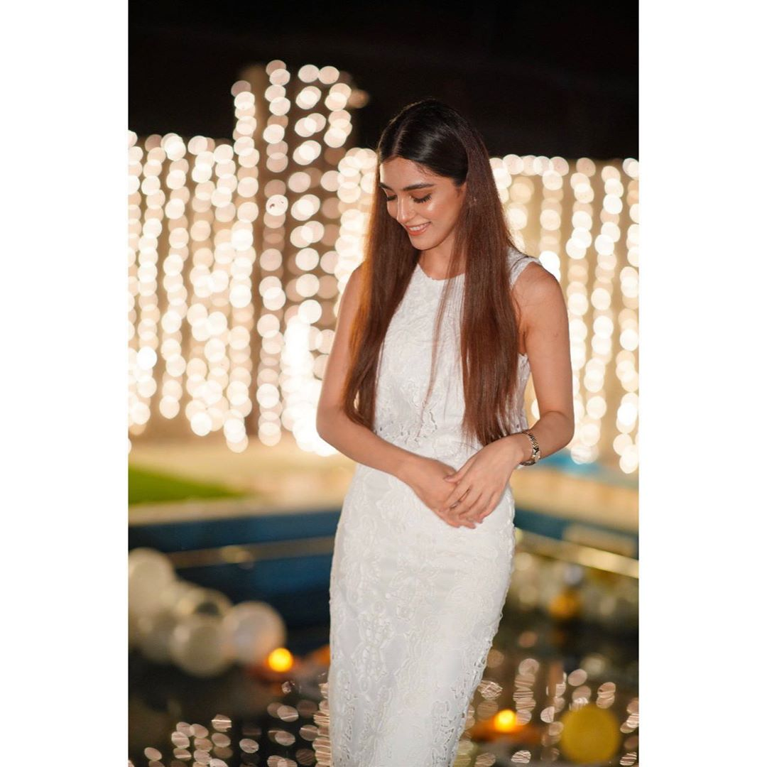 Maya Ali Celebrated Her Birthday with Family and Friends