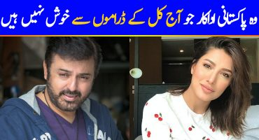 Pakistani Actors Who Are Not Happy With Current Drama Trends