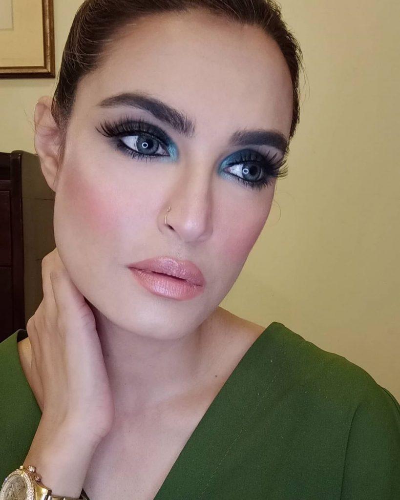 Beautiful Eye Makeups by Nadia Hussain