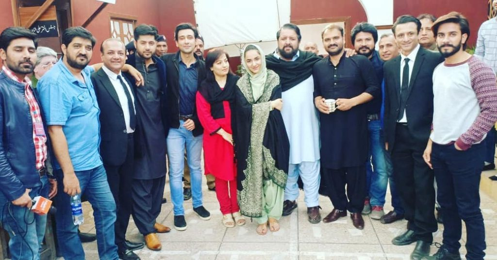 Unseen Pictures of Rehan Sheikh with Friends at Work