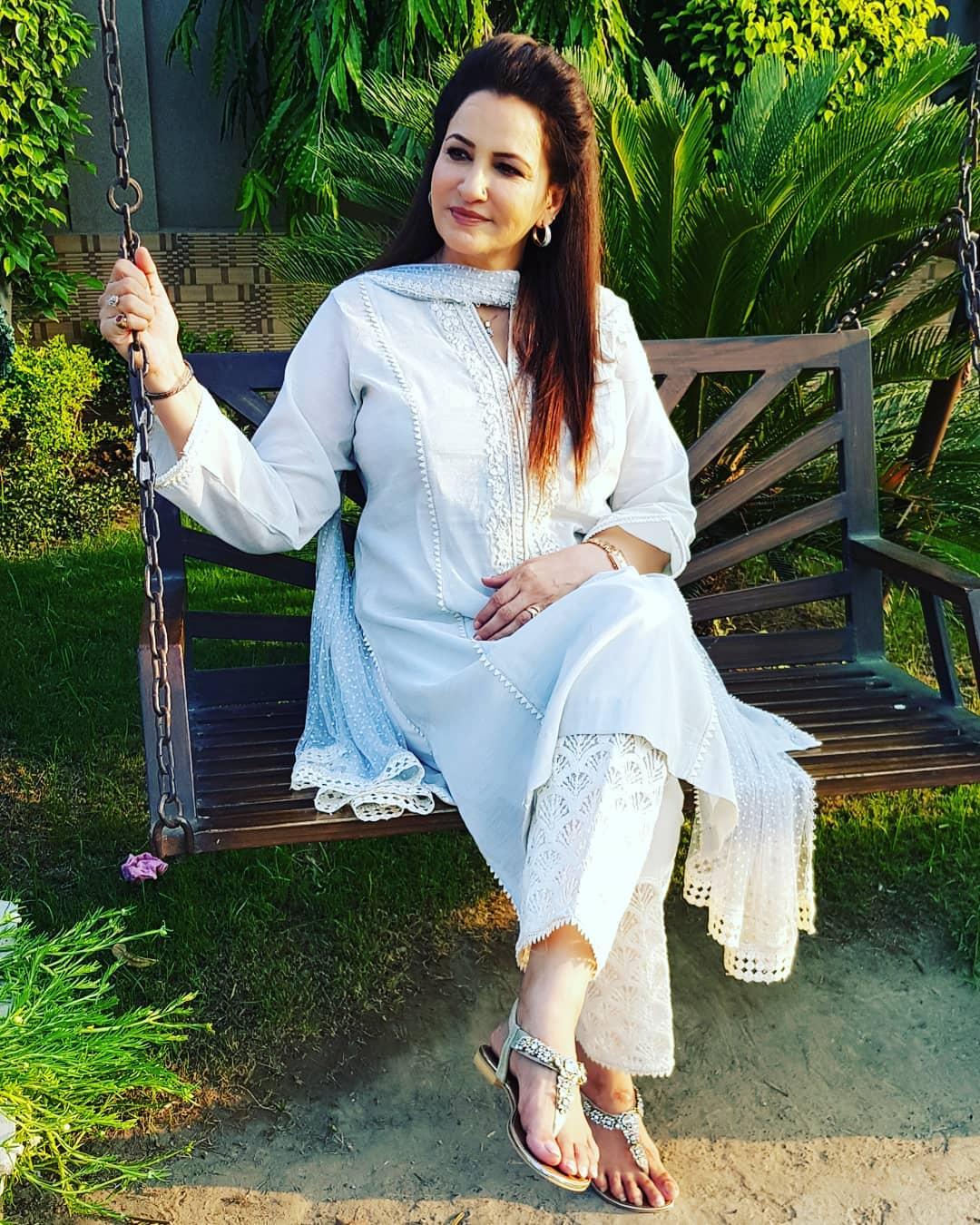 Saba Faisal with her Daughter Sadia Faisal - Latest Pictures