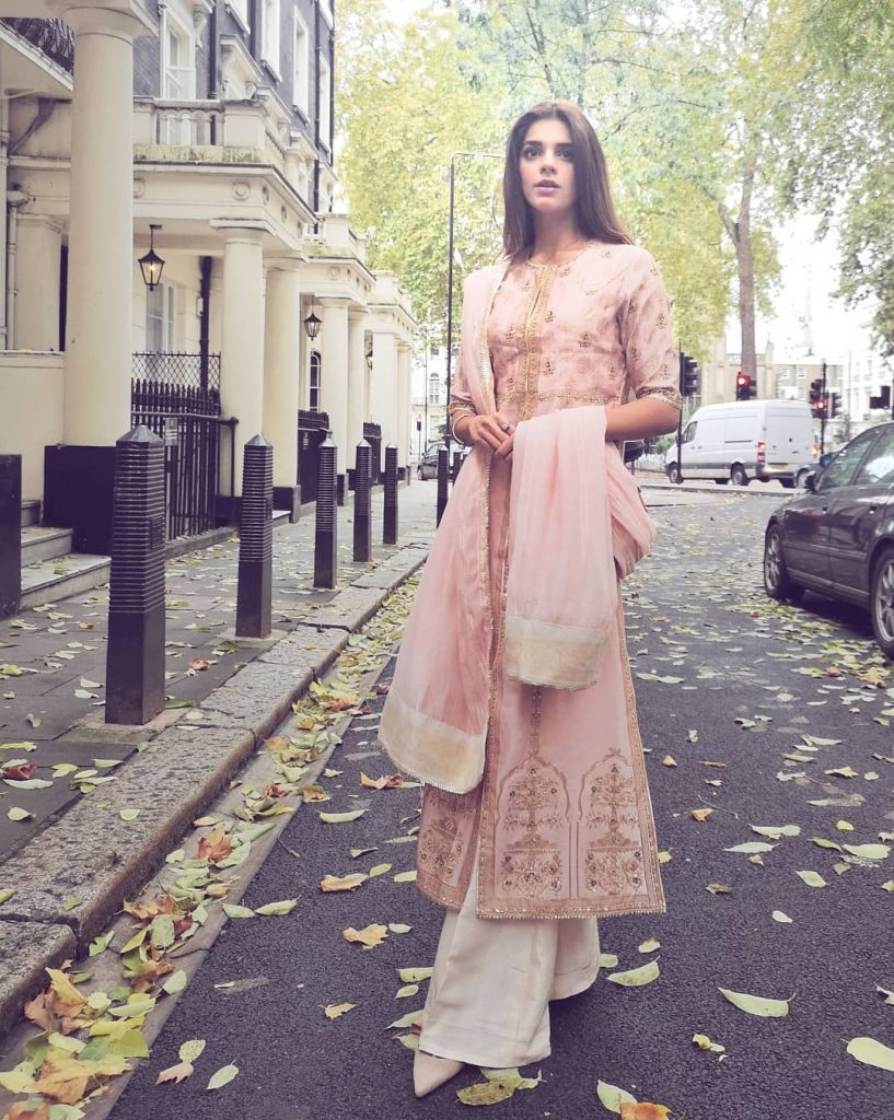 Eastern Prints of Sanam Saeed that are Her Favorites