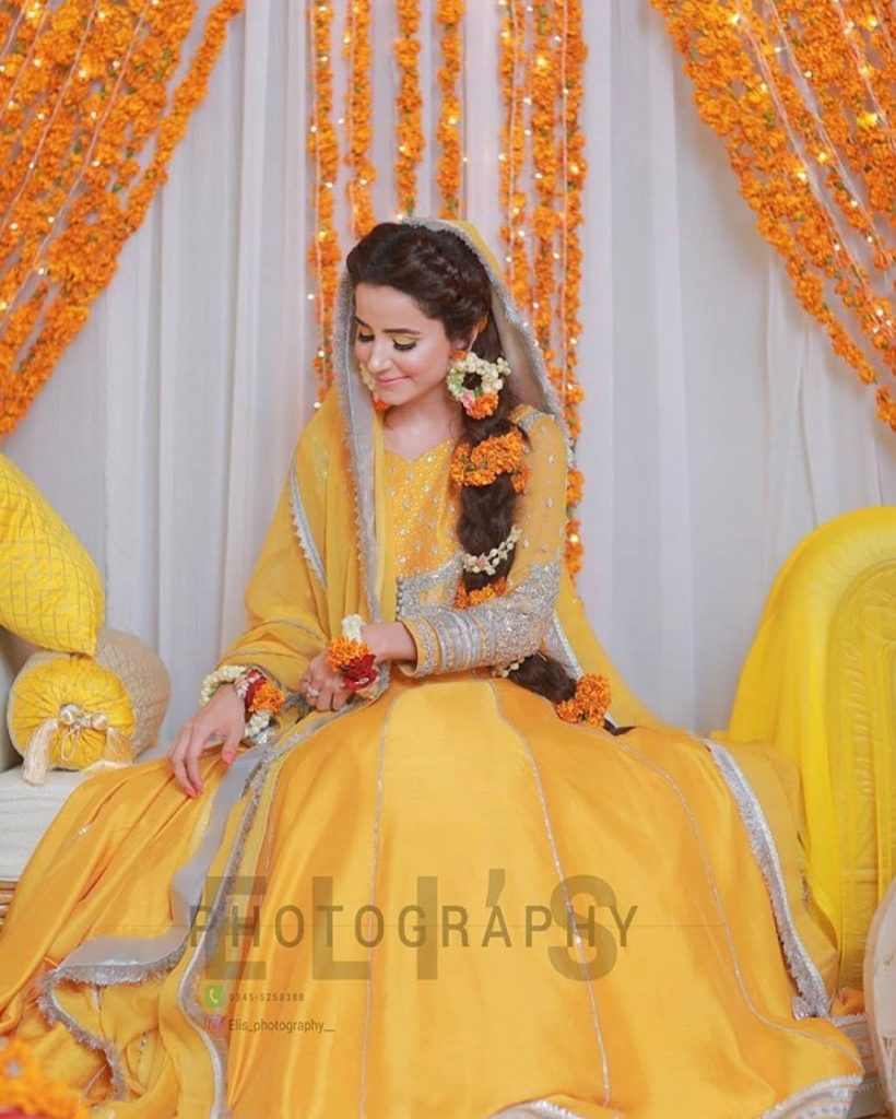 Actress Saniya Shamshad Shares Beautiful Video & Pictures From Her Mehendi