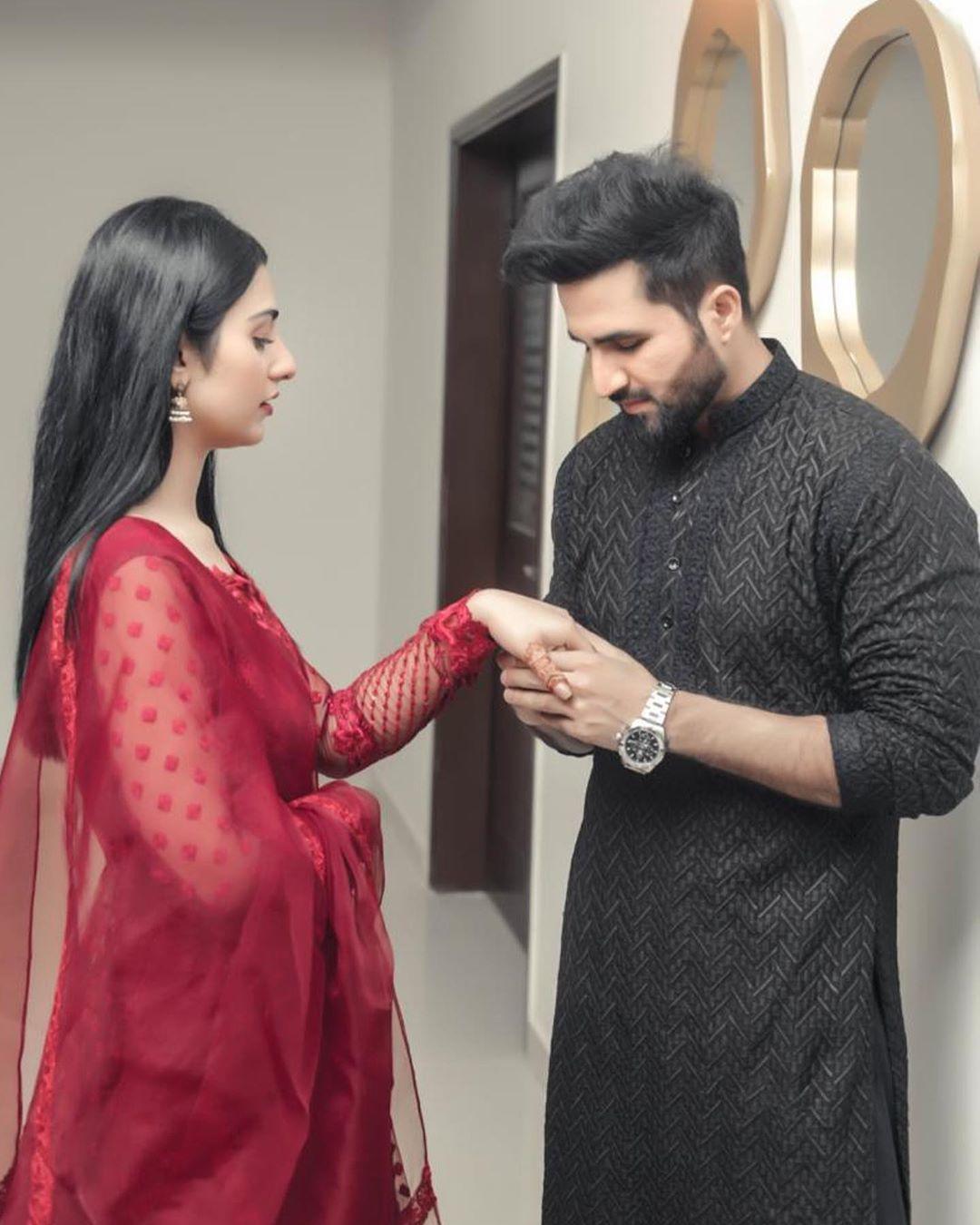 Sarah Khan and Falak Shabir Latest Beautiful Pictures