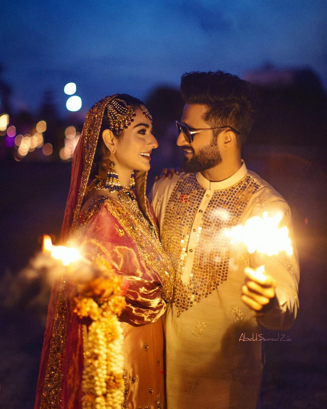 Sarah Khan and Falak Shabir New Wedding Pictures and Video
