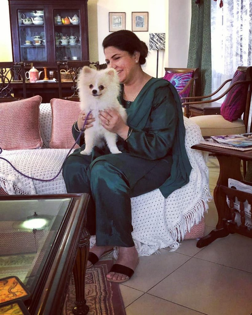 Dazzling Pictures of Shagufta Ejaz with Her Family