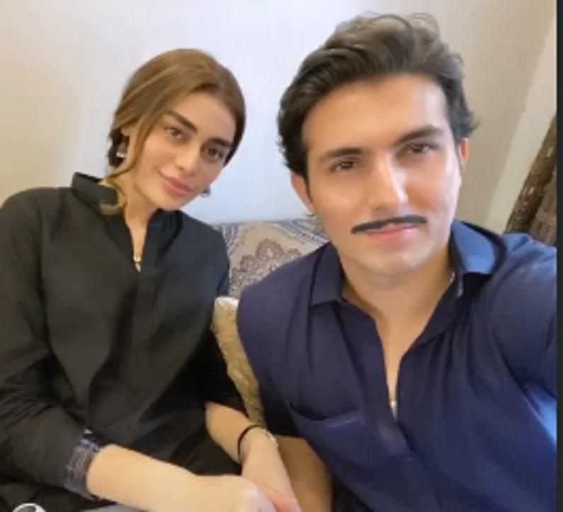 Sadaf Kanwal & Shahroz Sabzwari Pair Up For A Telefilm