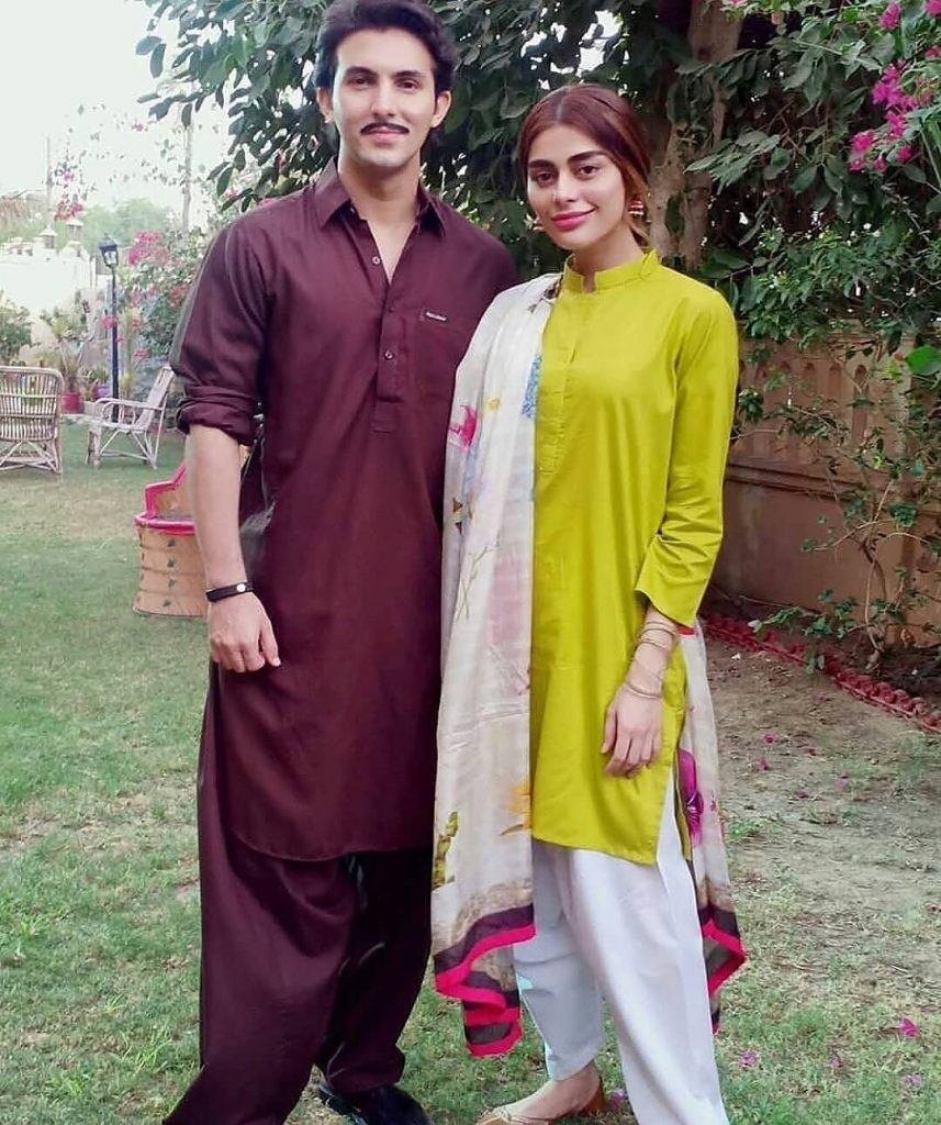 Sadaf And Shahroz Shared Experience Of Working Together