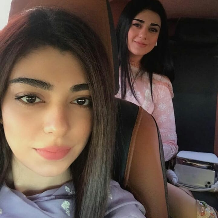 Sarah Khan with her Sister Aisha Khan - Latest Pictures