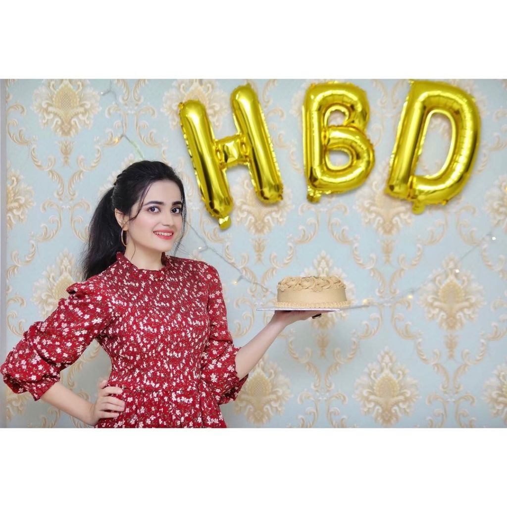 Actress Kompal Iqbal Shared Her Birthday Clicks