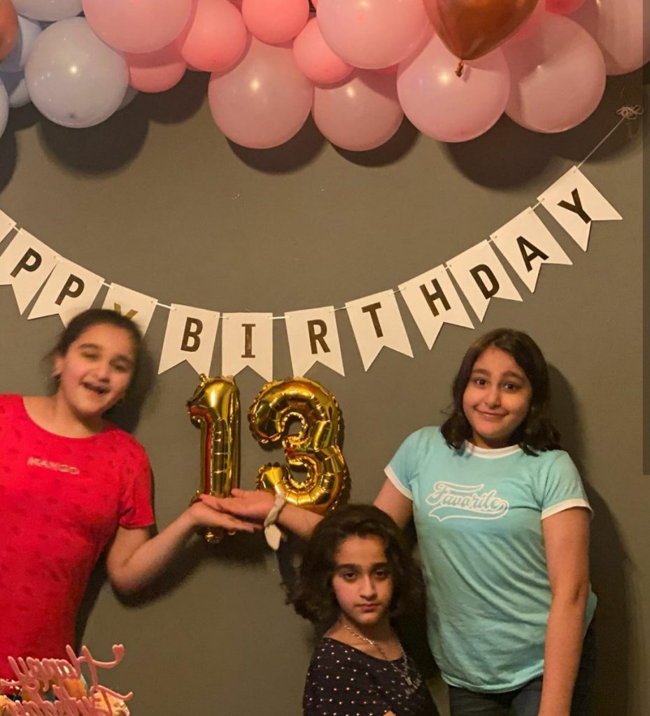 Actor Shan Shahid Daughter's Birthday Pictures
