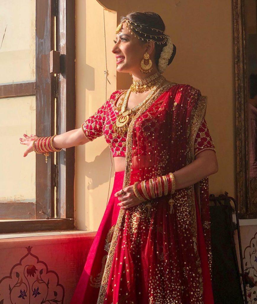 Stunning Pictures Of Mewish Hayat In Saaree