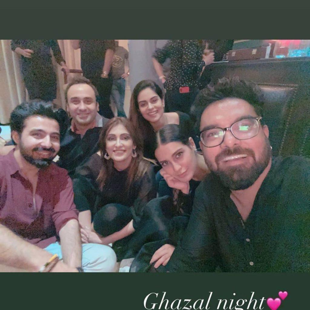 Adnan Siddiqui Sings At Ghazal Night