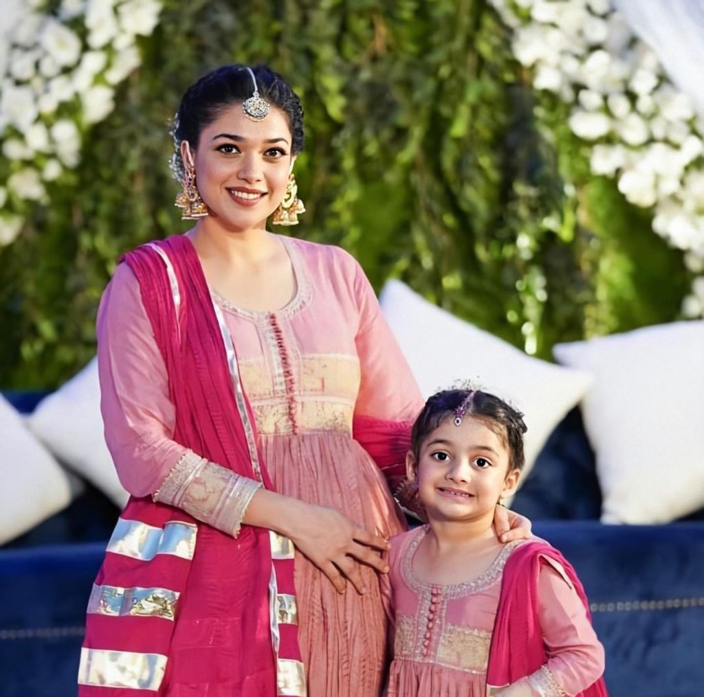 Adorable Video Of Sanam Jung With Daughter