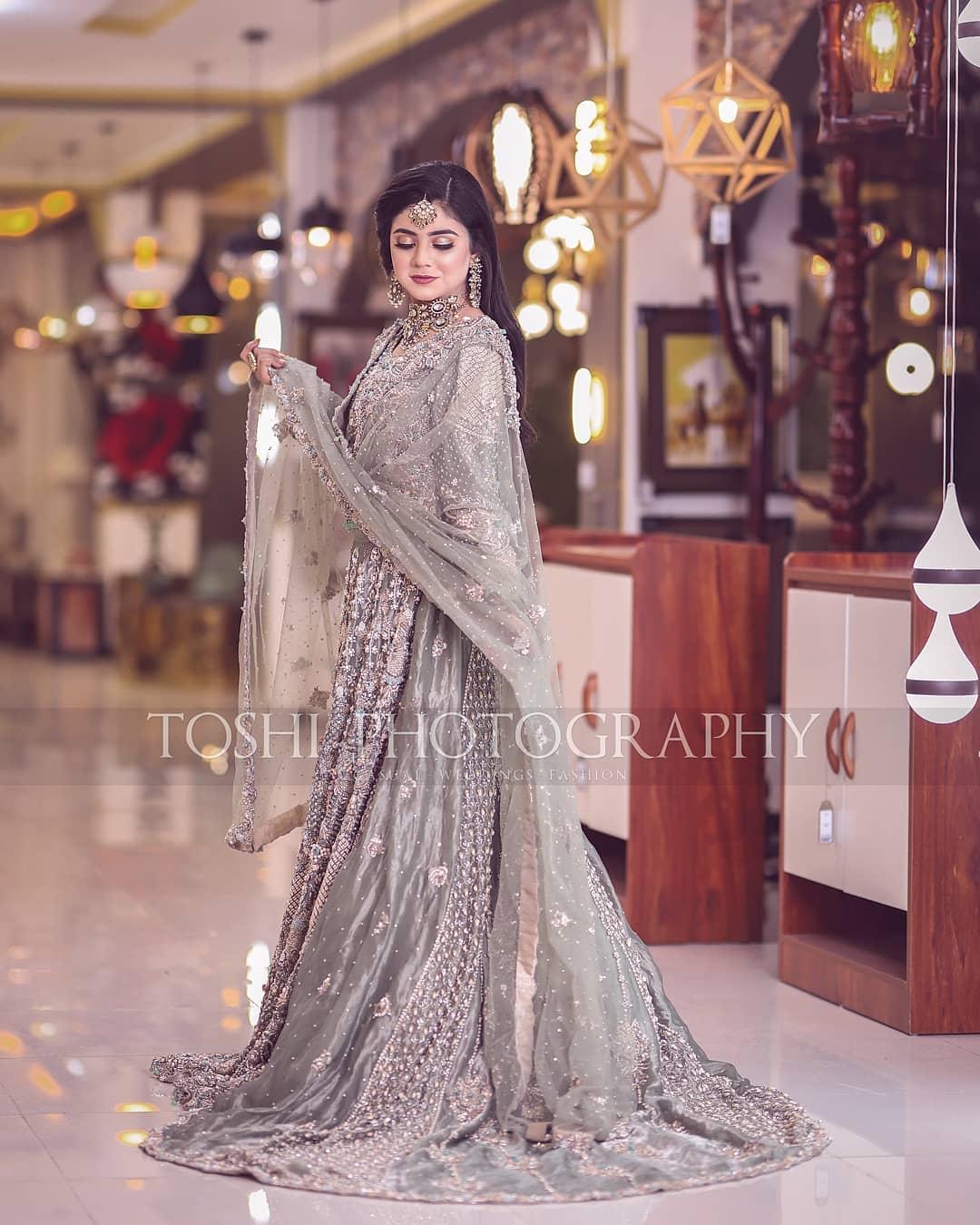 Famous Tik Toker Areeka Haq Latest Bridal Photo Shoot