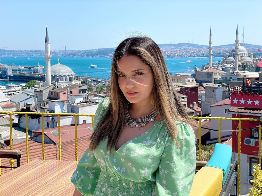 Gorgeous Armeena Khan Clicks from Istanbul Turkey