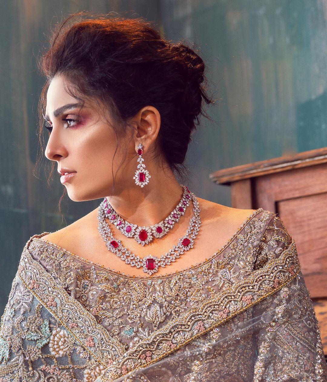 Ayeza Khan New Photo Shoot in Beautiful Dress for Sara Rohale Asghar