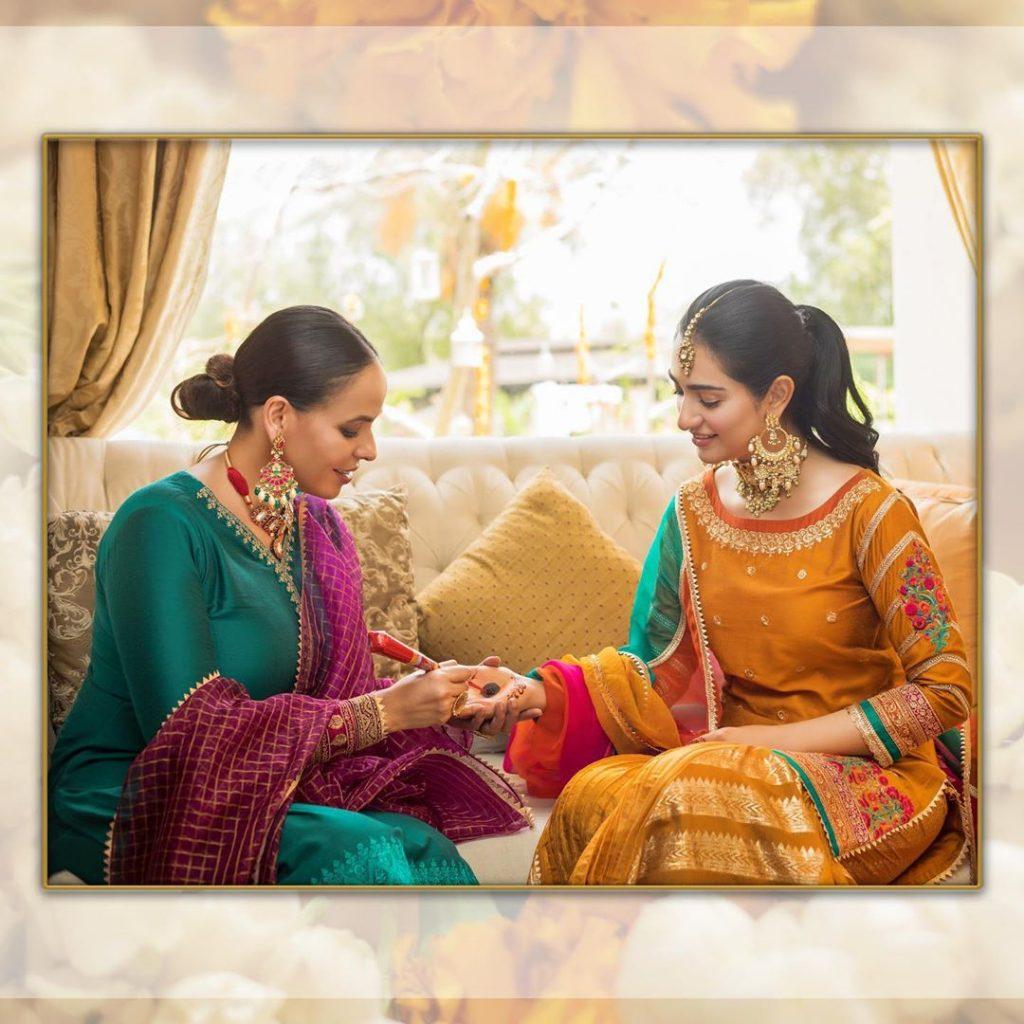 Beautiful Recreation Of Sarah Falaks Intimate Wedding 5