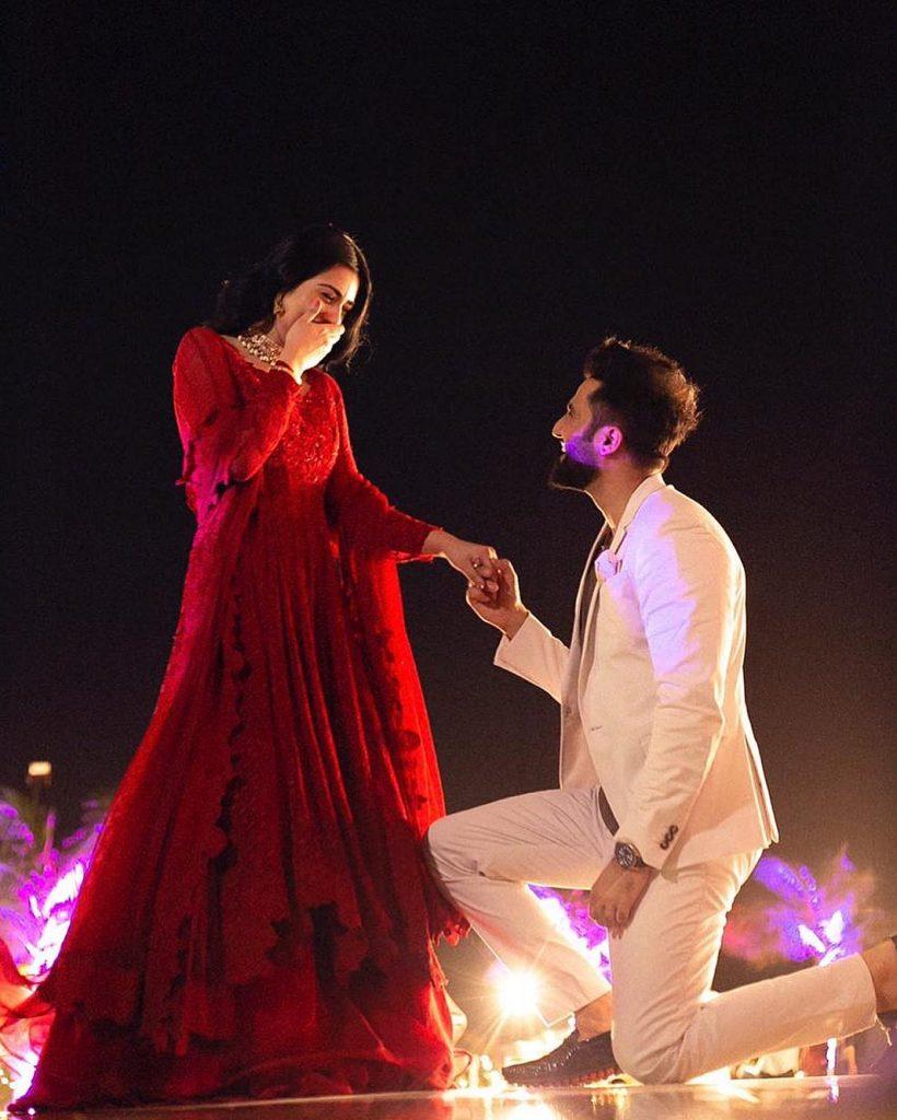 Beautiful Recreation Of Sarah, Falak's Intimate Wedding