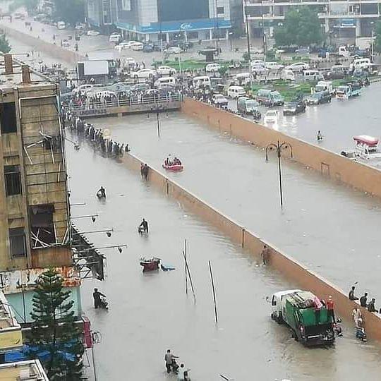 Celebrities Raise Voice Over Condition Of Karachi After Rain