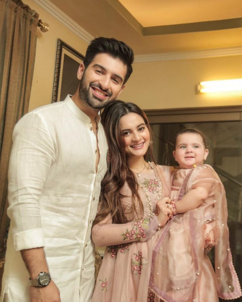Eid Pictures Of Aiman Khan And Muneeb Butt 10