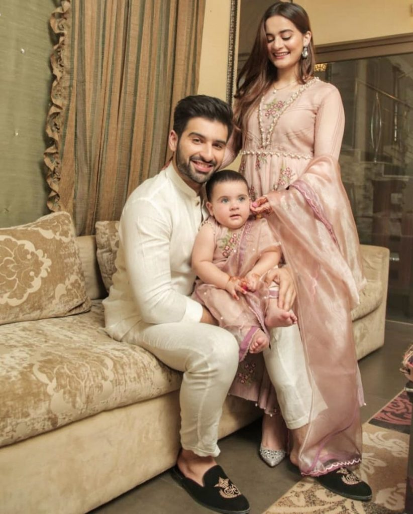 Eid Pictures Of Aiman Khan And Muneeb Butt 11