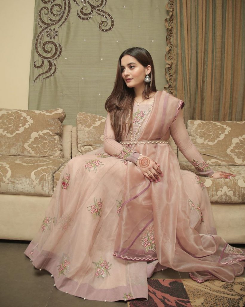 Eid Pictures Of Aiman Khan And Muneeb Butt 12