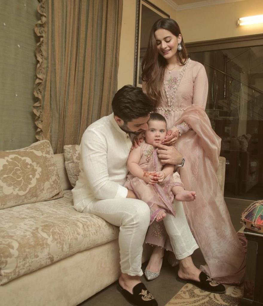 Eid Pictures Of Aiman Khan And Muneeb Butt 13