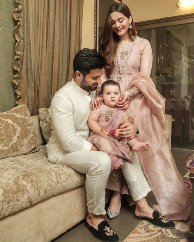 Eid Pictures Of Aiman Khan And Muneeb Butt 8