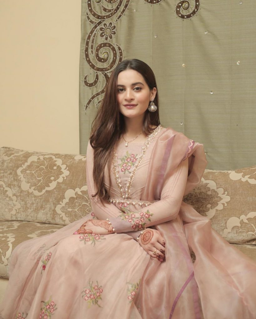 Eid Pictures Of Aiman Khan And Muneeb Butt 9