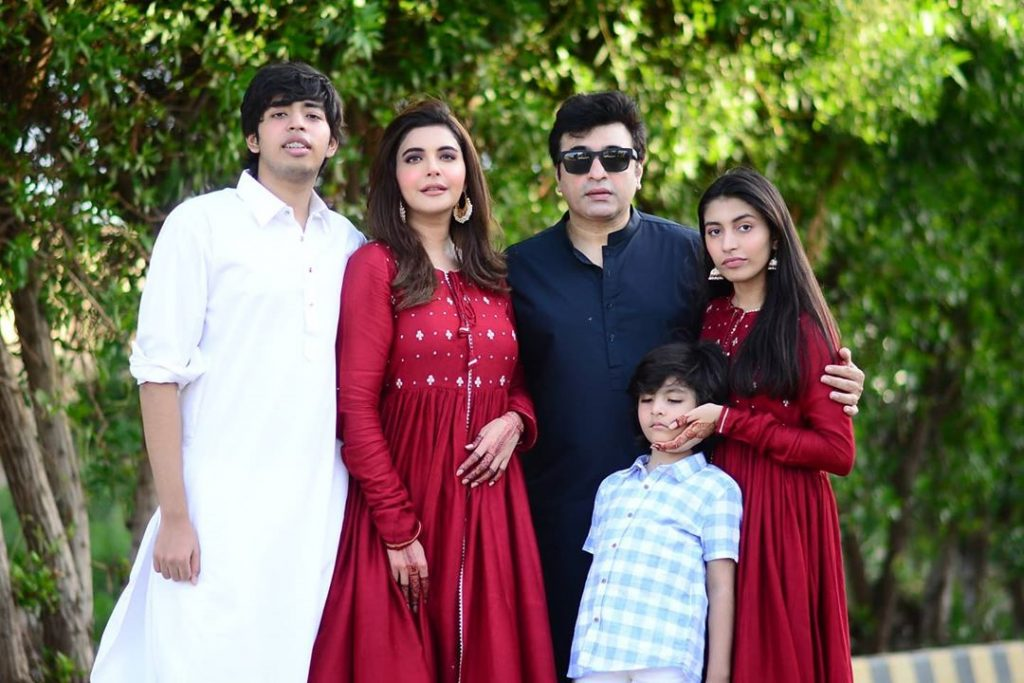 Eid Pictures Of Nida And Yasir's Family