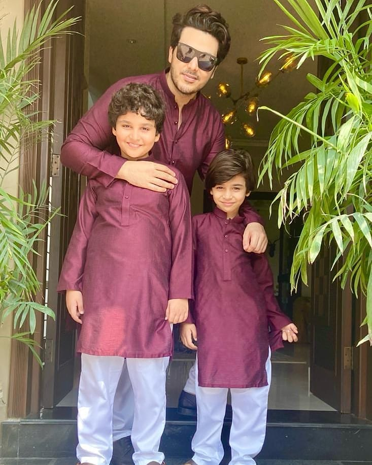 Beautiful Eid ul Adha Pictures of Pakistani Celebrities 2020