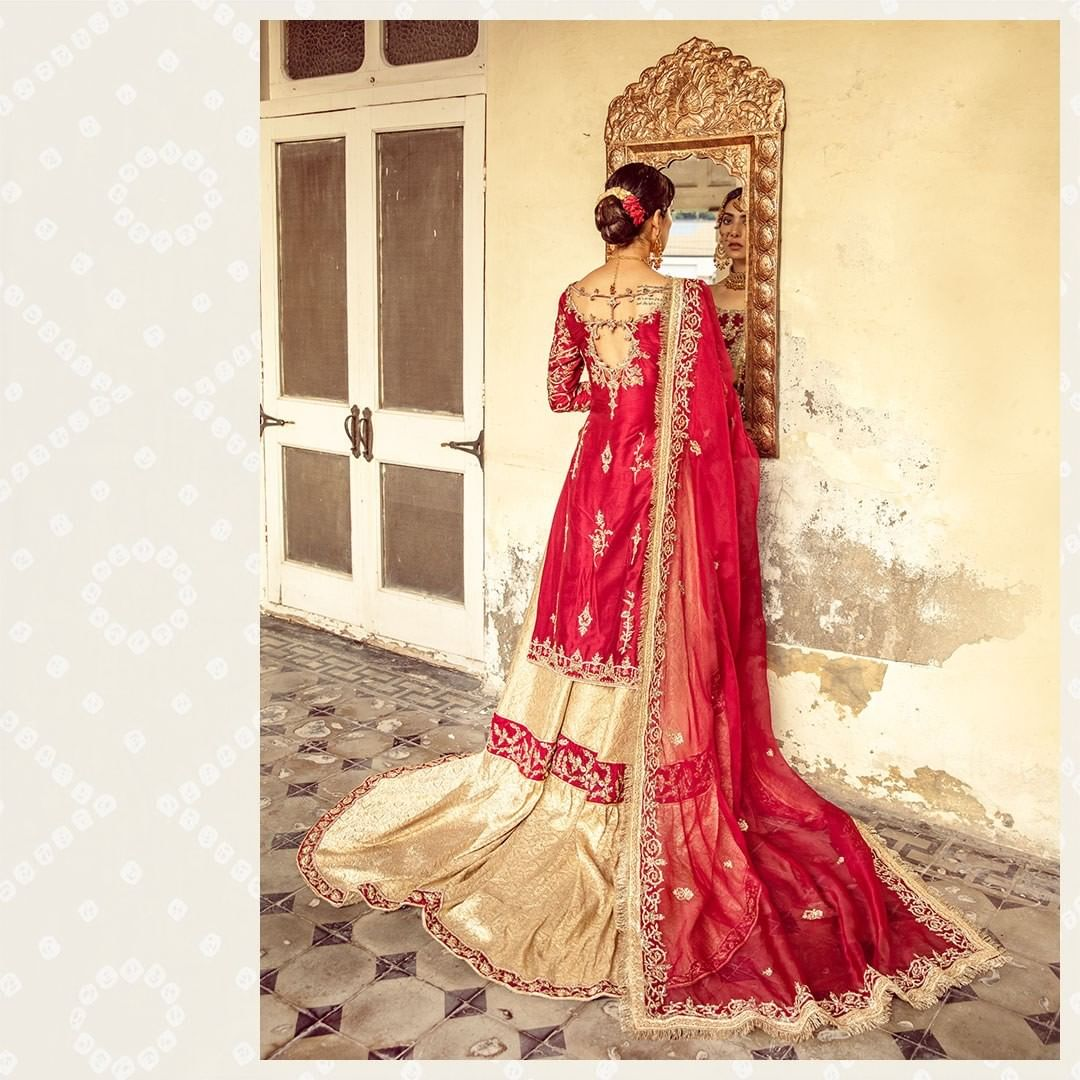 Gorgeous Eman Suleman In Wedding Dresses