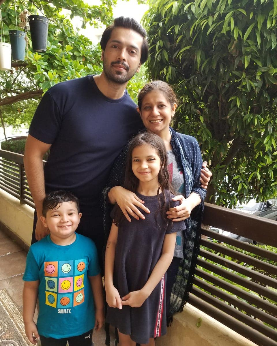 Latest Family Pictures of Fahad Mustafa