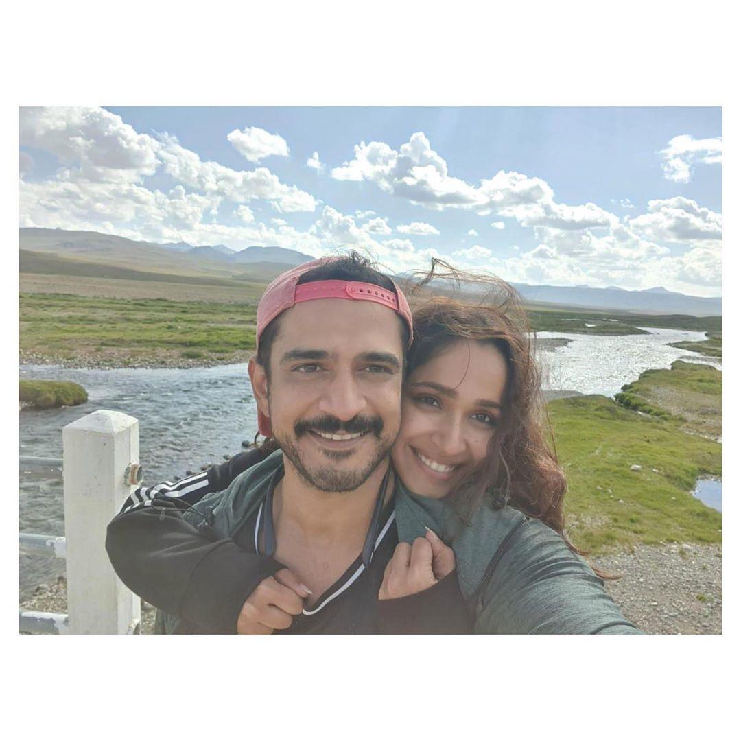 Faryal Mehmood and Daniyal Raheal Exploring Pakistan on their honeymoon Trip