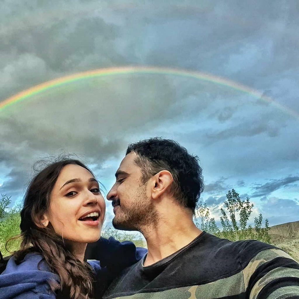 Faryal Mehmoods Cute Dance Video From Honeymoon 13