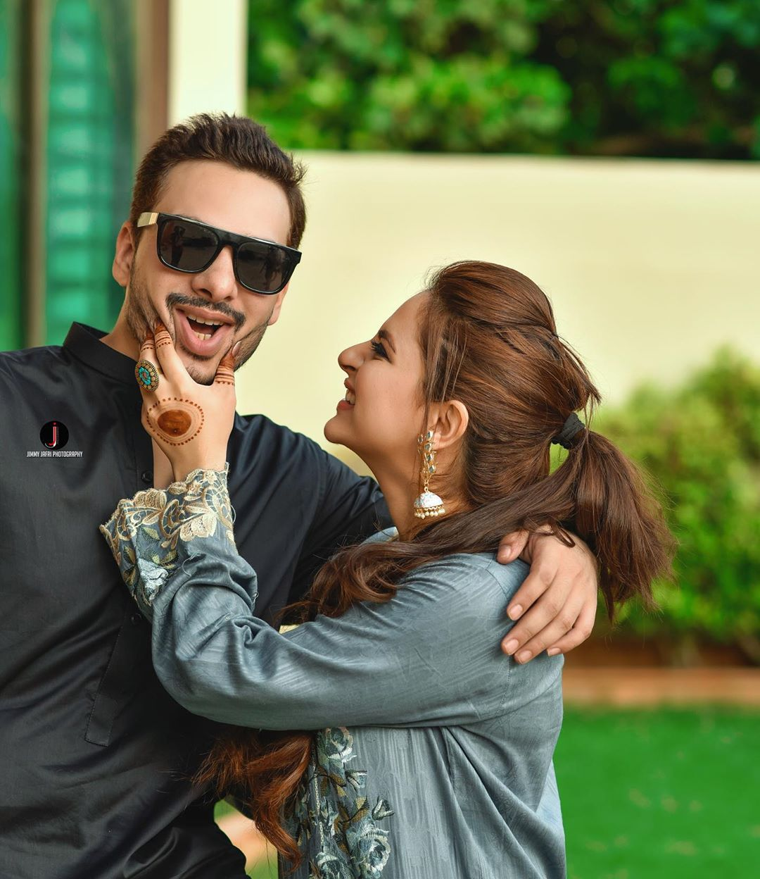 Fatima Effendi and Kanwar Arsalan Family Pictures from Eid Day 2