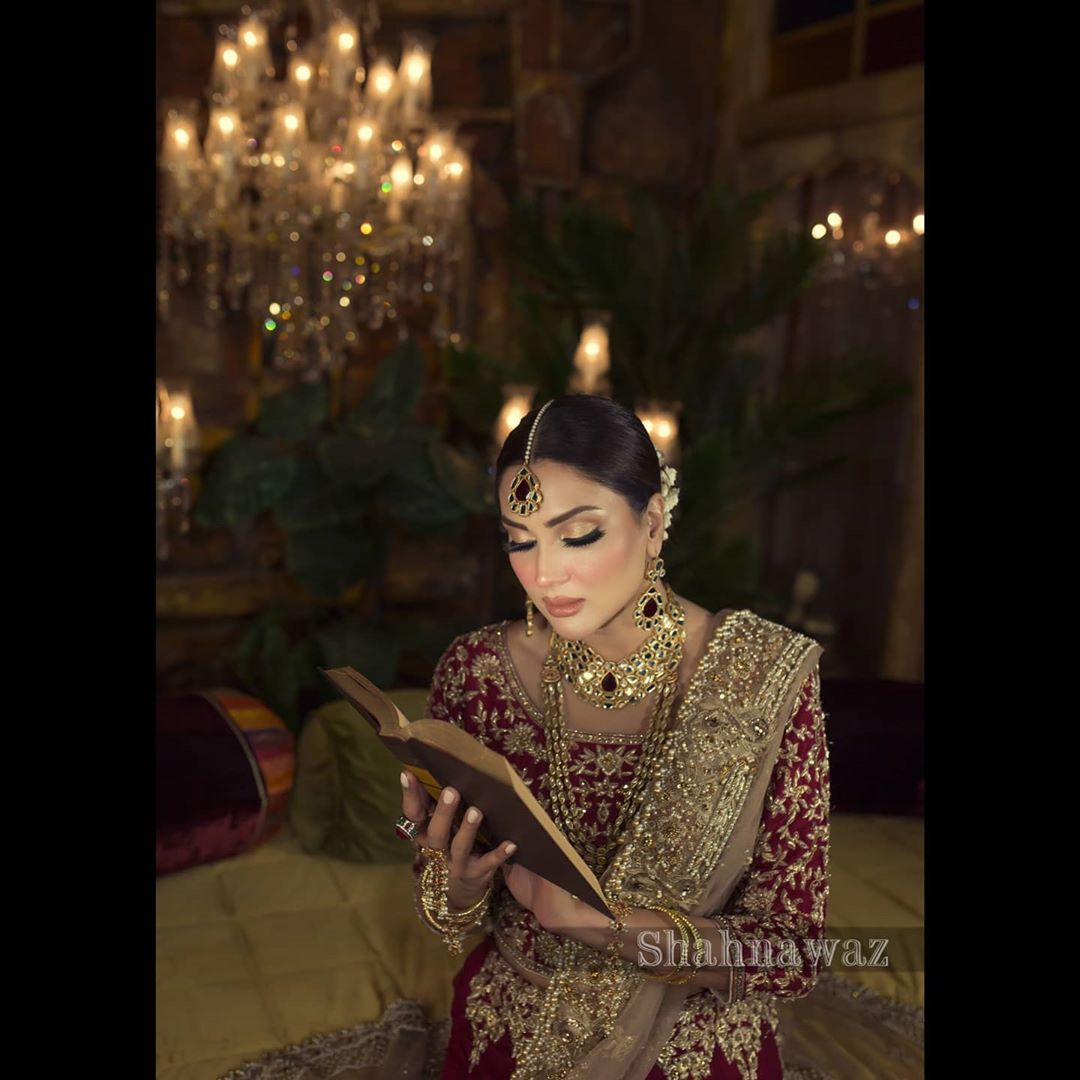 Actress Fiza Ali Beautiful Bridal Photo Shoot